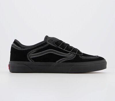 Vans Ua Rowley Trainers Black Trainers Shoes