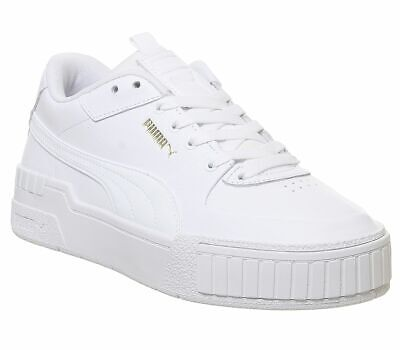 Womens Puma Cali Sport Trainers White Trainers Shoes