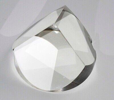 Trihedral Optical Prism - Round Base - Optics Laser