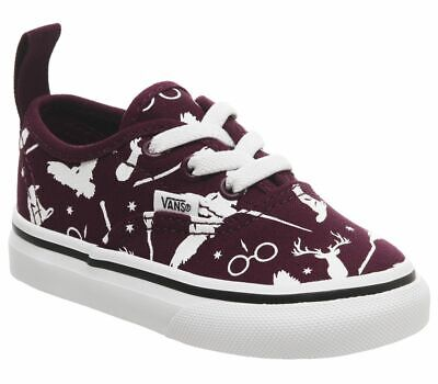 GENUINE TODDLERS KIDS HARRY POTTER AUTHENTIC ICON PORTS VANS TRAINERS NEW