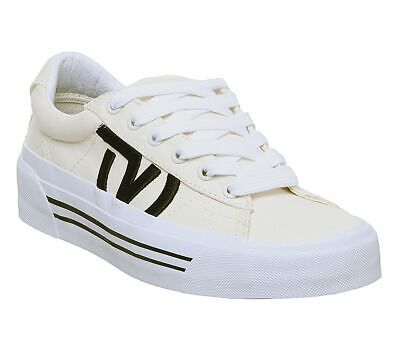 Womens Vans Sid Nl Trainers Classic White True White Staple Trainers Shoes