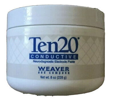 Ten20 Conductive Paste For Eeg Electrodes By Weaver Expires Date January 2022
