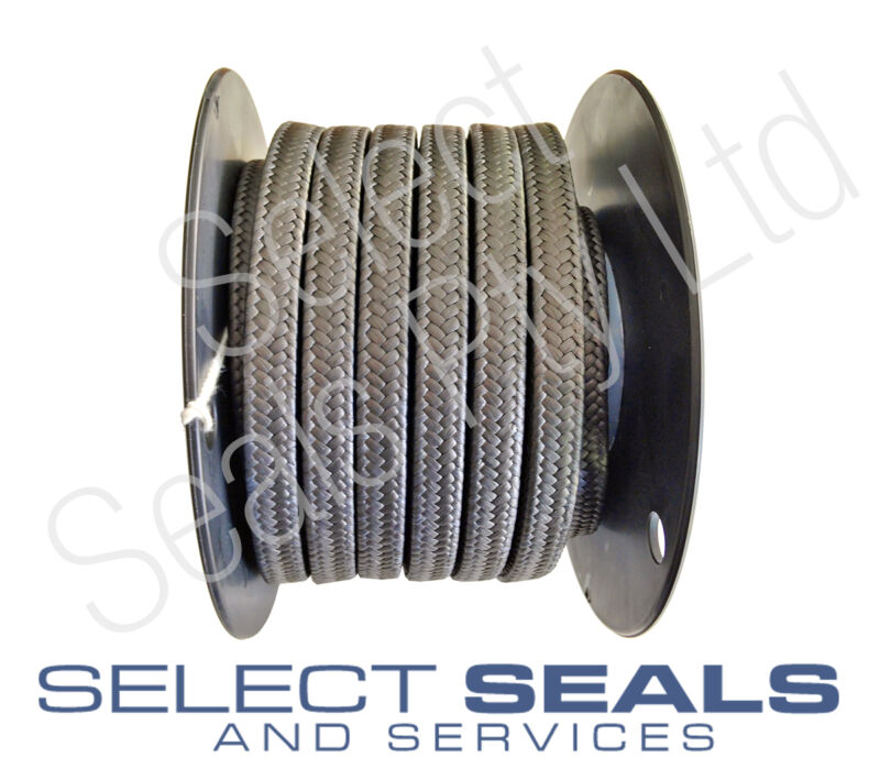 """GFO Graphite Gland Packing 3/8"""" / 9.5 mm - 8 Meters- Stern shaft stuffing box"""
