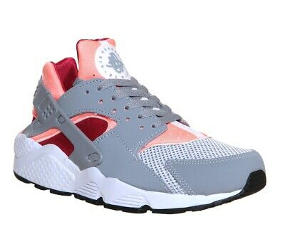 Nike Air Huarache Run UK 3 Pink Grey