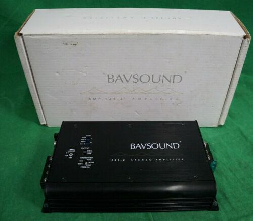 Bavsound 125.2 Stereo Amplifier For BMW 626-10025 W/Box