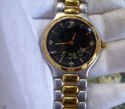 Model Depose Eol longines Men's Watch Conquest 2 Tone Digital l1 622 3 Estate