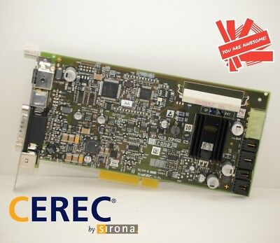 Sirona Cerec Ac Acquisition Supply Board 61-37-421 D3492 Cadcam Blue Cam Pcb