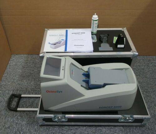 Sonost 3000 Portable Waterless BMD Ultrasound Bone Densitometer Osteoporotic