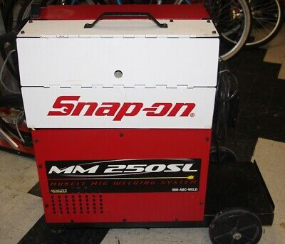 Snap-on Mig Welder Mm 250 Sl