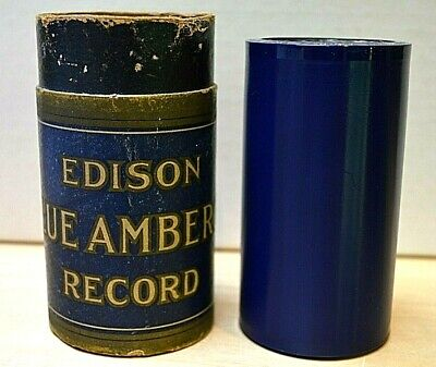 """EDISON BLUE AMBEROL RECORD  #1780  """"Favorite Airs From Erminie""""  (4 min.)"""