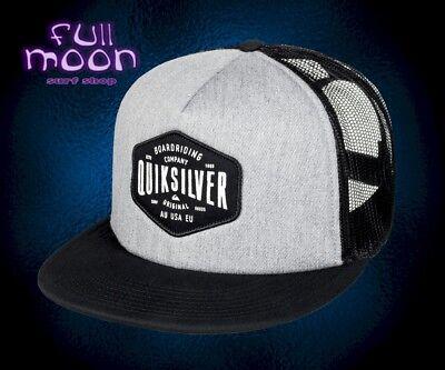 New Quiksilver  Brain Gainer Mens Snapback Trucker Cap Hat  - Brain Hats