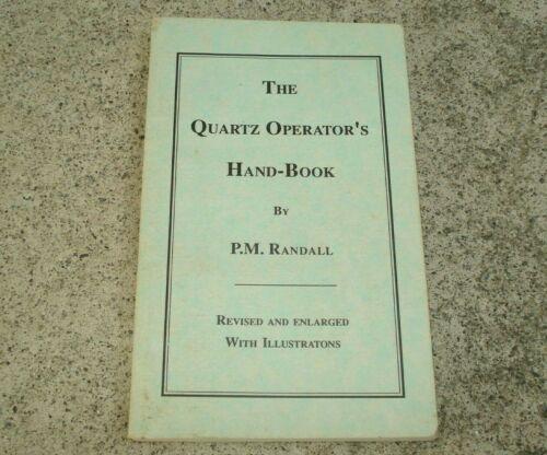Vintage THE QUARTZ OPERATOR