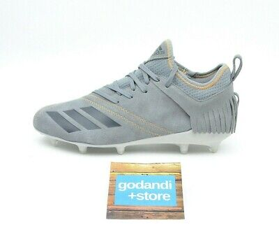 Adidas Adizero 5-Star 7.0 Men's Size 9 Gray Sundays Best Football Cleats (Adizero 5 Star Sunday's Best)