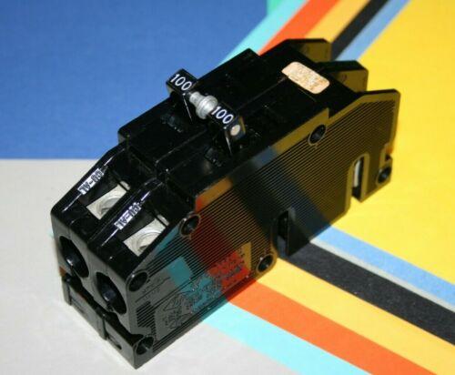ZINSCO / SYLVANIA 100 AMP MAIN BREAKER TYPE Q QC 120/240 VOLT