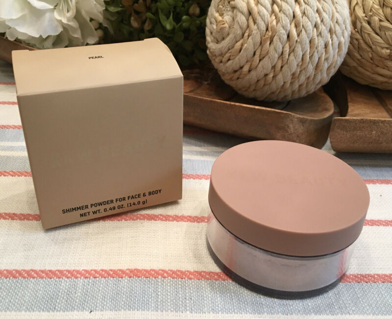 KKW BEAUTY Loose Shimmer Powder for Face & Body (PEARL) NEW IN HAND 🔥AUTHENTIC