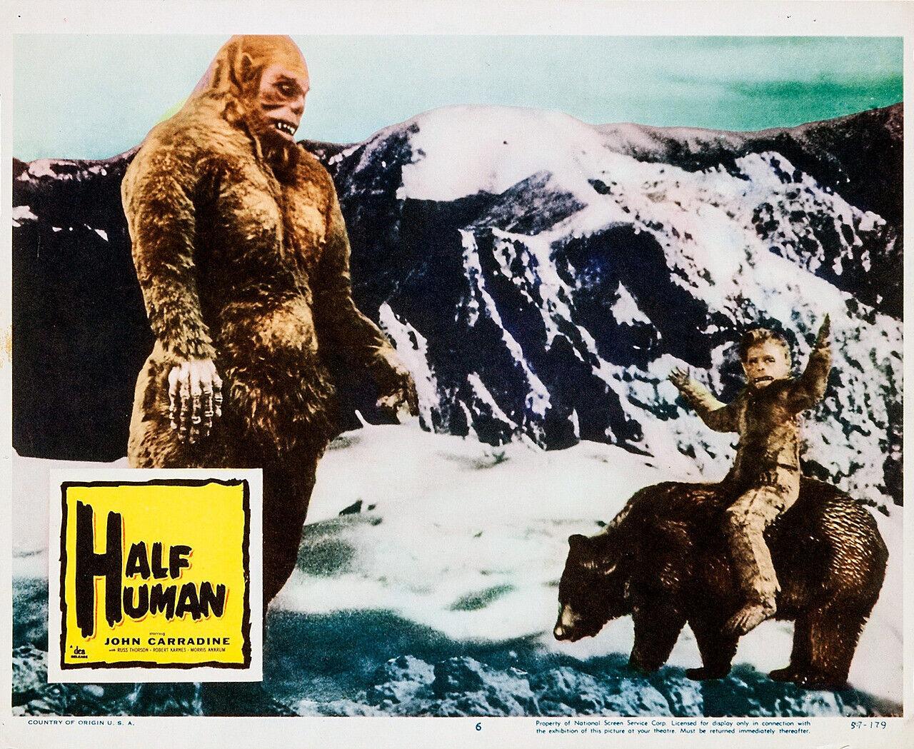 HALF-HUMAN DVD-R STARRING JOHN CARRADINE AMERICAN VERSION RARE MAKER OF GODZLLA  - $8.00