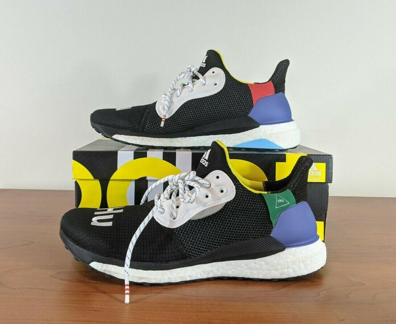 valor radiador liebre  adidas Solar HU NMD Bb9528 White/black/orange Pharrell Size 10 for sale  online | eBay