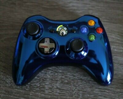 Xbox 360 Chrome Blue Limited Edition Controller
