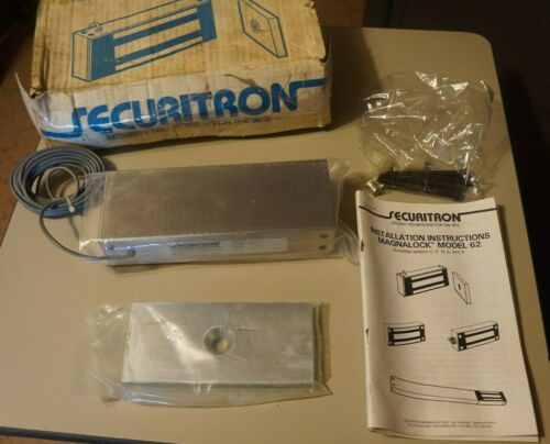 Securitron Magnalock model 62-24 24VDC 1200lb