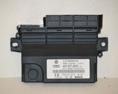 2004-2009 Audi A8 D3 Battery Onboard Supply Control Module Computer OEM Factory