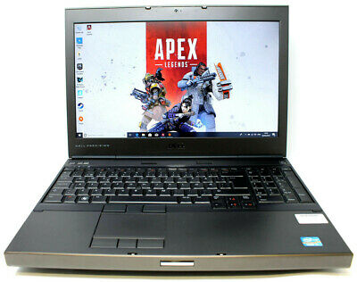 "Dell Gaming laptop Precision m4600 I7 2.7Ghz 16GB 480GB SSD DVD 15.6"" Nvidia CAD"
