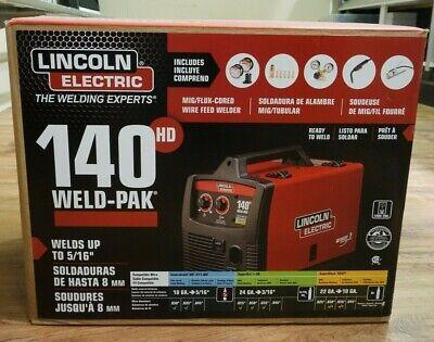 Ri4 Lincoln Electric 140 Hd Weld-pak 110 Welder K2514-1 Mig Wire Feed