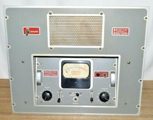 Magnasync (Moviola) Tube Film Recording Amplifier Rack Mount Unit VERY RARE
