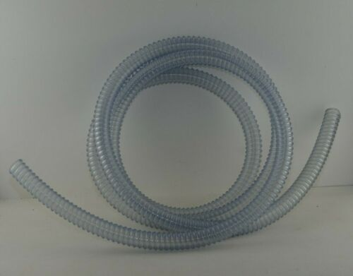 DENTAL WET / SUCTION PUMP HOSE 1 INCH, 13 FT CLEAR