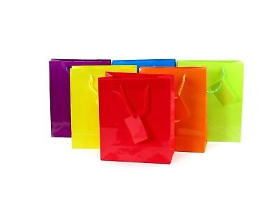 12pk Assorted Gift Bags - Wrapping Materials Christmas Gift Bags BULK