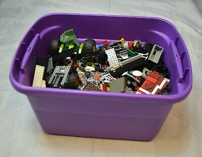 LEGO Bulk Lot 13lbs mixed pieces Harry Potter, Star Wars, City, etc