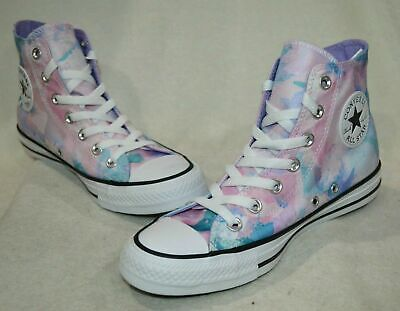 Converse Women's CTAS Washed Lilac/Multicolor High-Top Sneakers - Asst Sizes NWB Converse High Top Sneakers