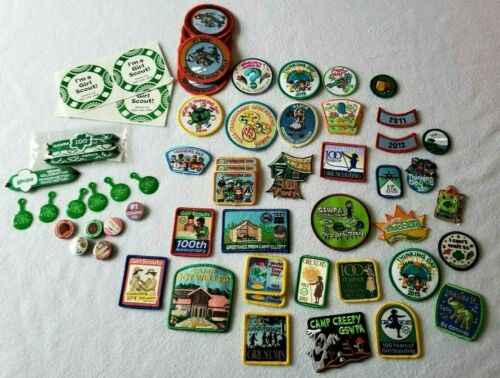 LOT of Girl Scout(PA) badges & pins