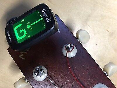 Ukulele Stimmgerät Mini Clip-Tuner - chromatisch auch Gitarre Banjo Geige |4c