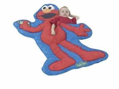 VINTAGE PLAYHUT KIDS ELMO SLEEPING BAG IN EXCELLENT CLEAN CONDITION - Elmo Sleeping Bag