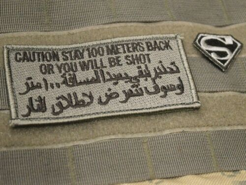 BAGHDAD WHACKER® PRIVATE SECURITY MILITARY CONTRACTOR PMC JTF vêlkrö 2-PATCH SET