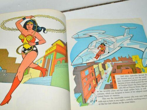 1977 DC Comics Super Friends Revenge of Super Foes Wonder Woman Aquaman Robin