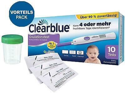 Clearblue digital Ovulationstest 2.0 mit dualem Hormonindikator 10 Frühtests