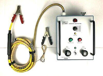 Megger Programma Vidar High Voltage Circuit Breaker Vacuum Interrupter Vi Tester