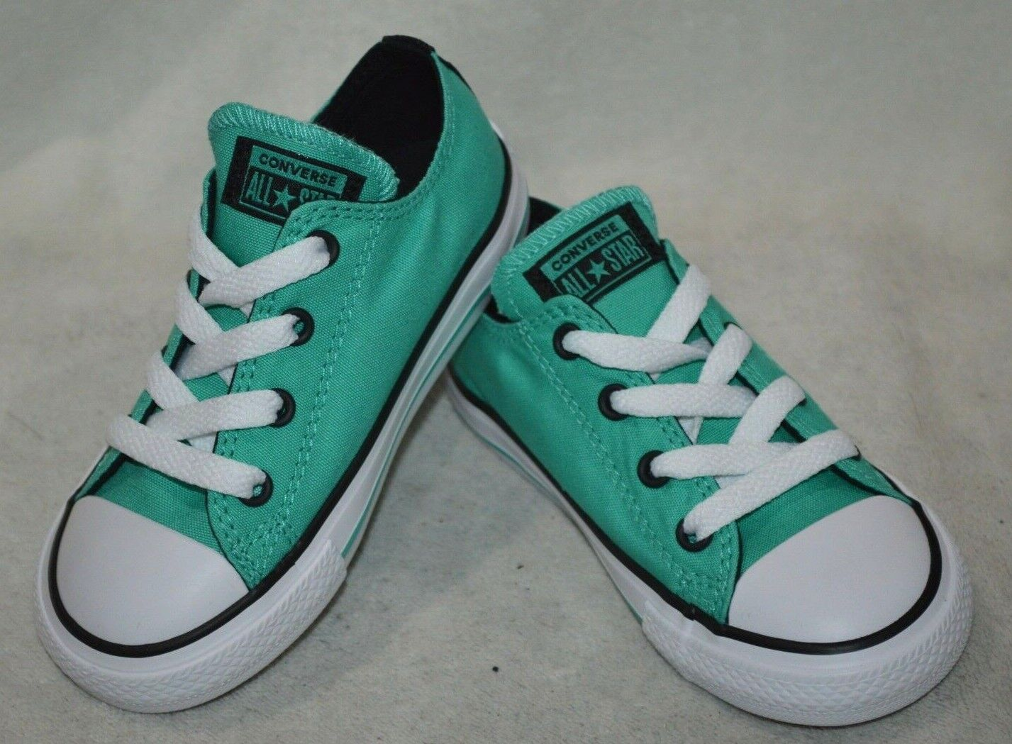 Converse® All Star CT OX P-Teal/Black/White Toddler Girl's Shoes- 6/7/8/9/10 NWB