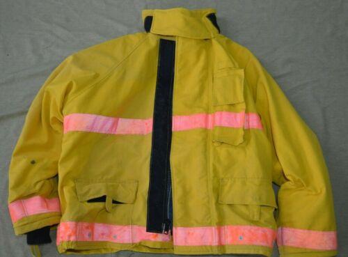 Firefighter Brown Turnout Jacket Coat with Orange Tape X Large Viking 2014