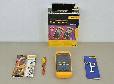 New Fluke 51 Ii Thermocouple Digital Thermometer Accessories 21568 H42