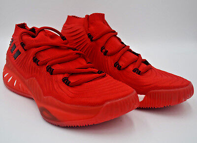 low priced de85f e14da Adidas Crazy Explosive Primeknit Low Rockstar BB9151 Red Basketball Shoes  Sz 12