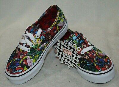 Vans Boy/Girl's Authentic Marvel Multicolor Skate Shoes - Assorted Sizes - Vans Authentic Girl