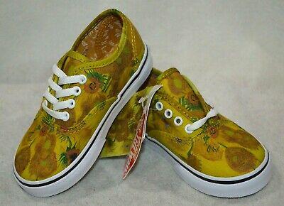 y's Authentic Vincent Van Gogh Skate Shoes-Asst Sizes NWB (Vans Toddler Boy Schuhe)