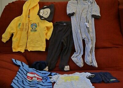 BABY BOY CLOTHING 6-9 / 12 MONTH CARTER`S / ORIGINAL STYLE