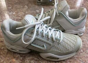 Nike Air Max Breathe Free 2 II Women's White Running Shoes Sz 6 #308661-
