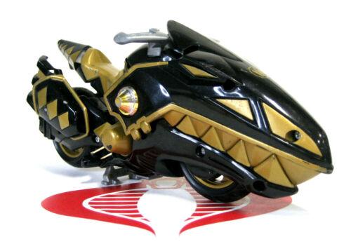 Power Rangers Dino Thunder Vehicle Black Hovercraft Motor Cycle Bandai 2004