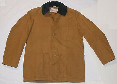 408455677be5f VINTAGE BOY'S WINCHESTER CANVAS HUNTING JACKET WITH GAME POCKET! VERY NICE!  10