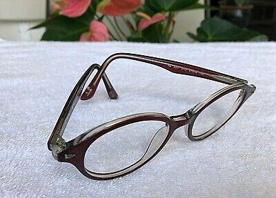 Verwendet Ray-Ban Rund Rot Brille Rahmen Rb5257 5112 (nur Fassung) 47-18 140