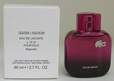 Eau De Lacoste L.12.12 Magnetic Pour Elle perfume edp 2.7 oz New in White Box